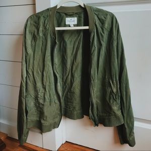american eagle green jacket